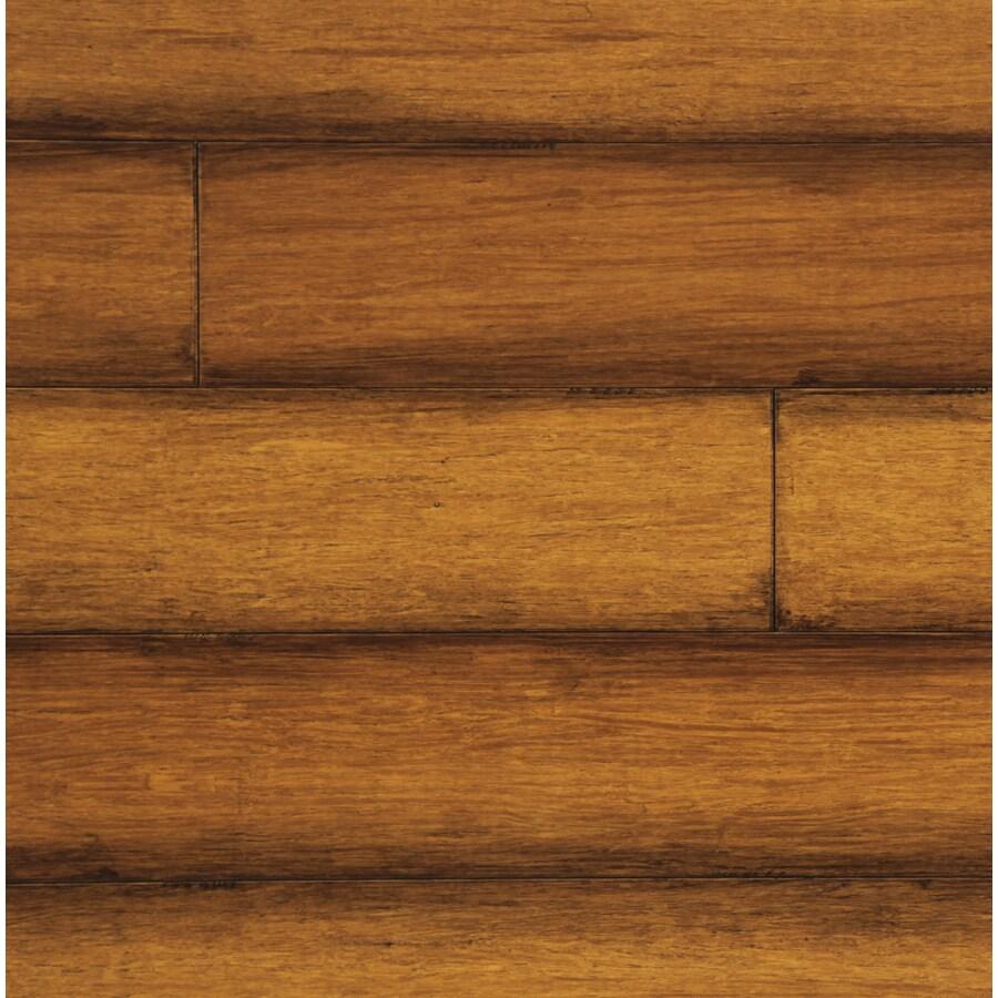 easoon Exotic Diy 4.87-in W Prefinished Bamboo Locking Hardwood Flooring (Toffee)