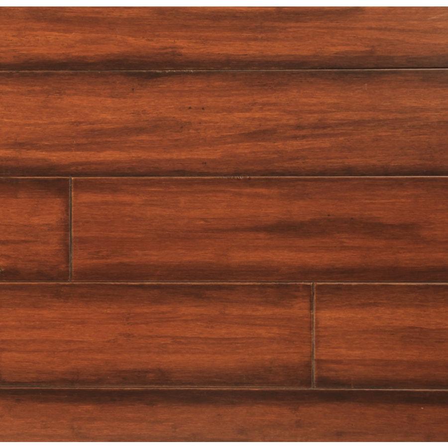 easoon Exotic Diy 4.87-in W Prefinished Bamboo Locking Hardwood Flooring (Amber)
