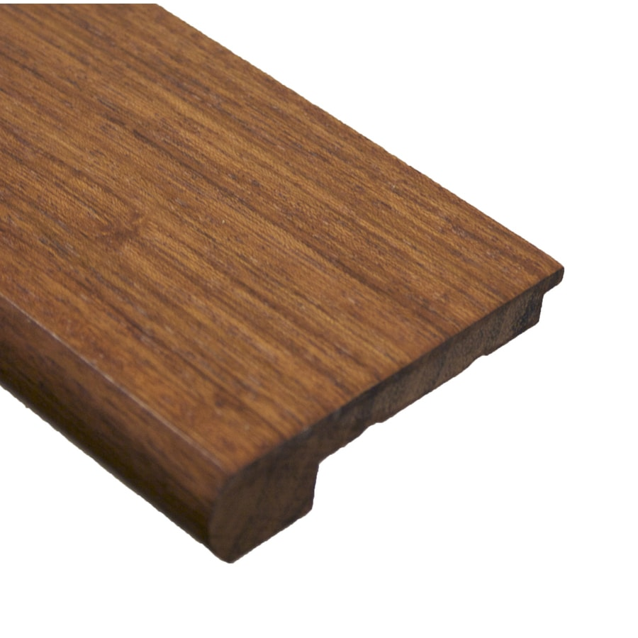 easoon 3.13-in x 78-in Brown Stair Nose Floor Moulding