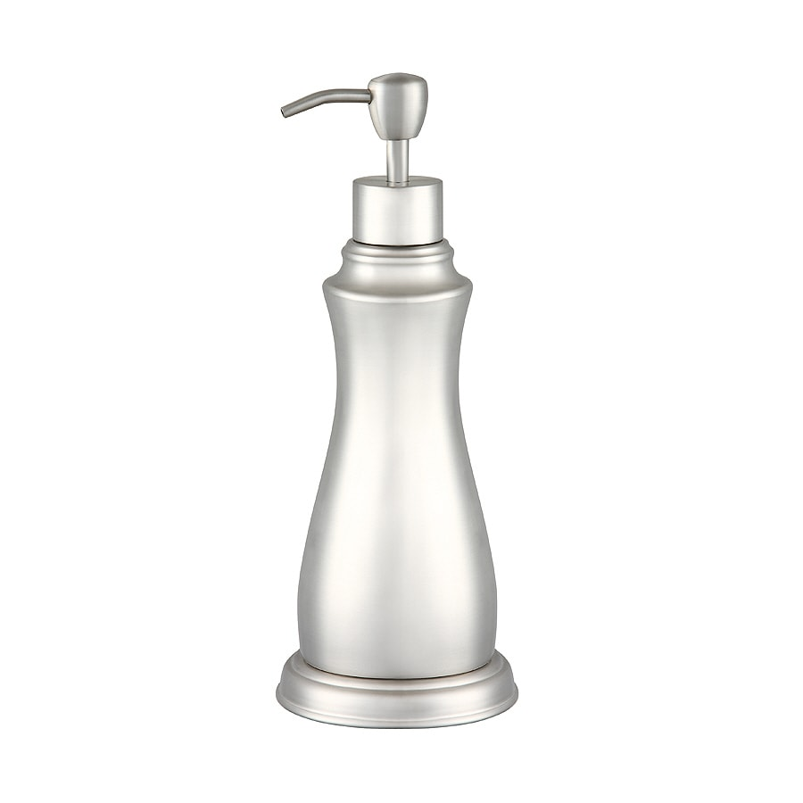 allen + roth Mitchell Brushed Nickel Lotion Dispenser