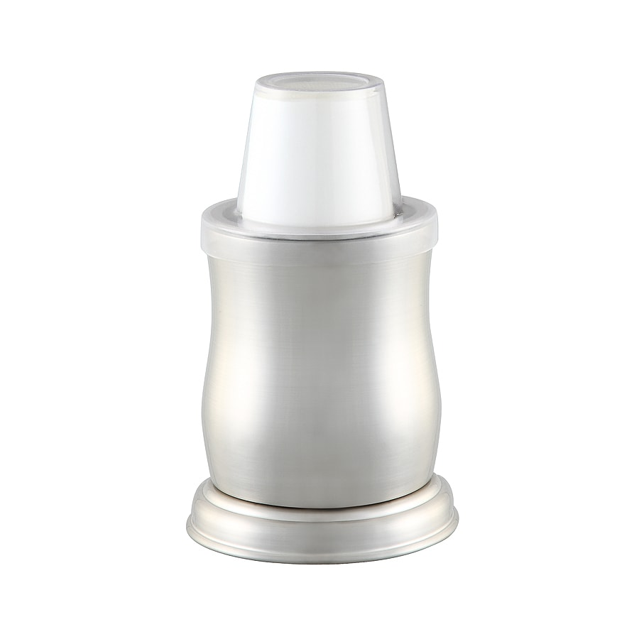 Allen Roth Mitchell Brushed Nickel Metal Disposable Cup Dispenser