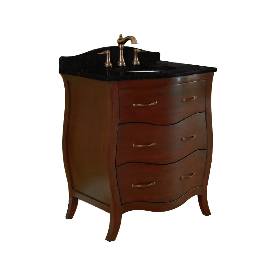 Shop allen roth single sink bathroom vanity with top for Bathroom vanity tops