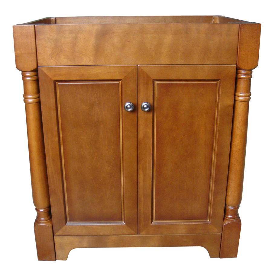 allen + roth Burbank Sable (Common: 30-in x 21-in) Traditional Bathroom Vanity (Actual: 30-in x 21-in)