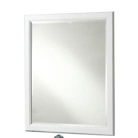 shop bathroom mirrors at lowes, Home decor