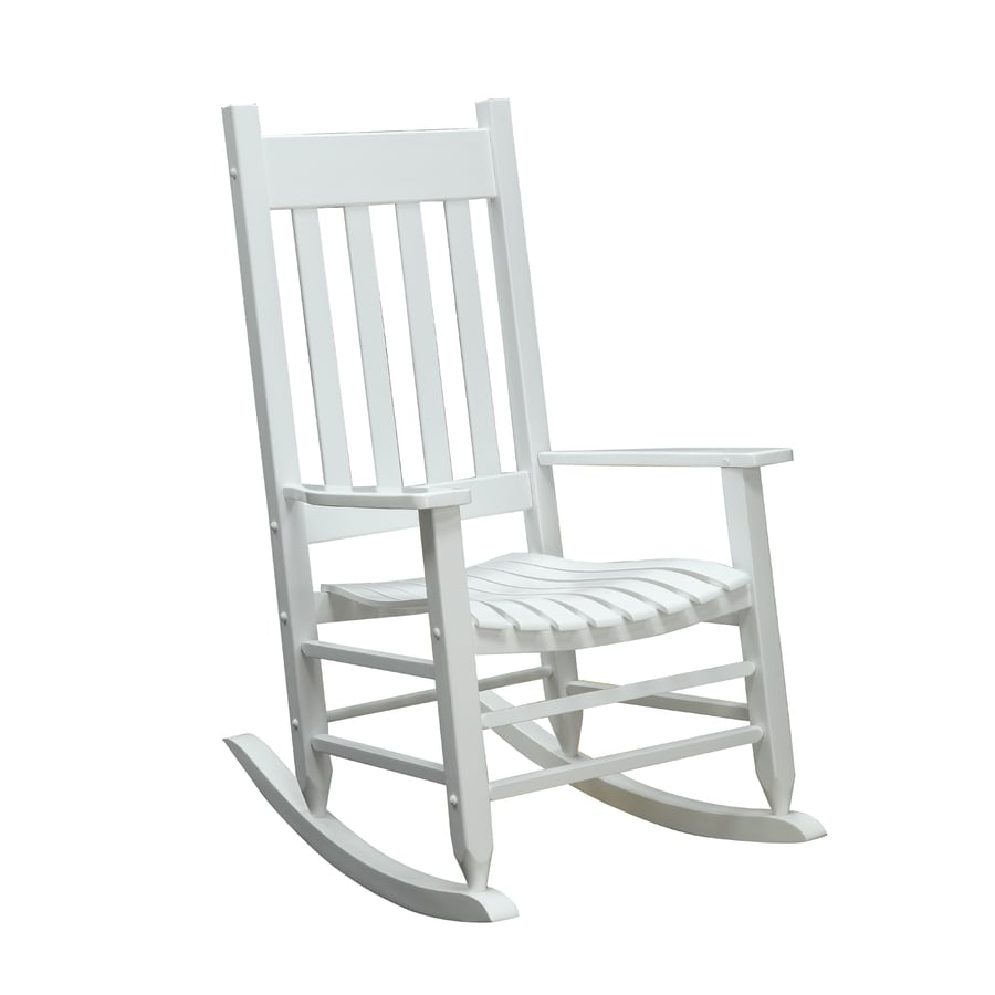 Garden Treasures Patio Rocking Chair At Lowes Com