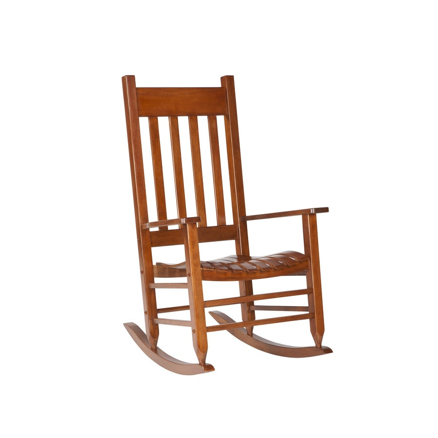 Shop garden treasures patio rocking chair at for Rocking chair