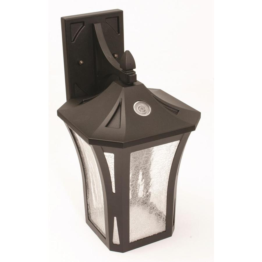 Afx Stratford 8 5 In W 1 Light Black Transitional Wall Sconce In The Wall Sconces Department At Lowes Com