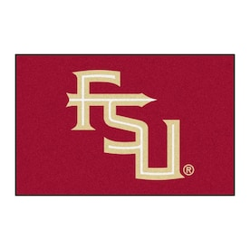 Fanmats Boston College Eagles 1 1 2 Ft X 2 1 2 Ft Red Rectangular Indoor Door Mat In The Mats Department At Lowes Com