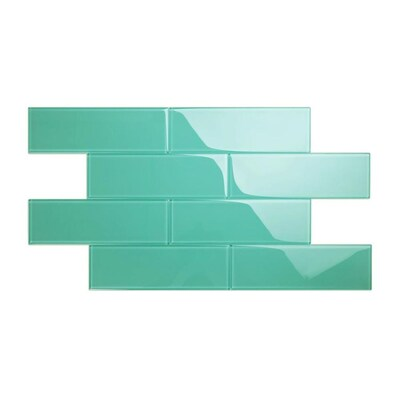 Wall Teal Tile At Lowes Com