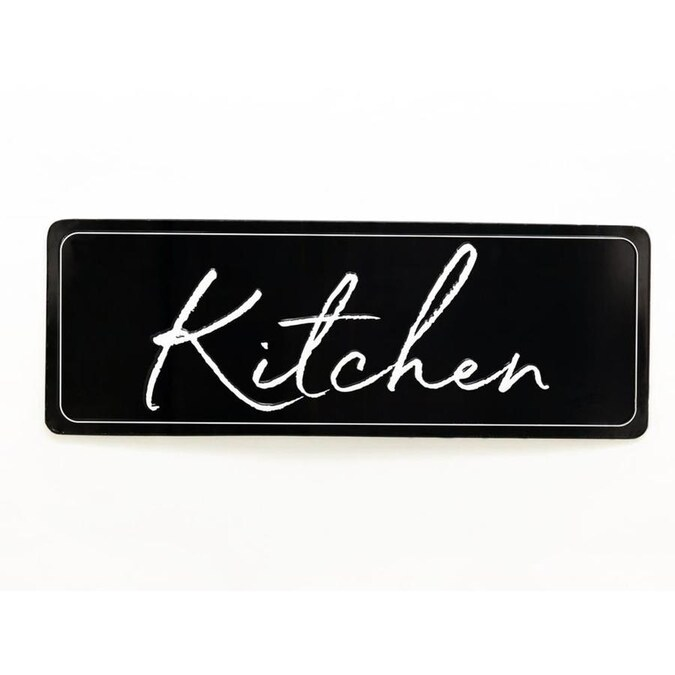 Parisloft Kitchen Metal Wall Plaque In The Wall Art Department At Lowes Com