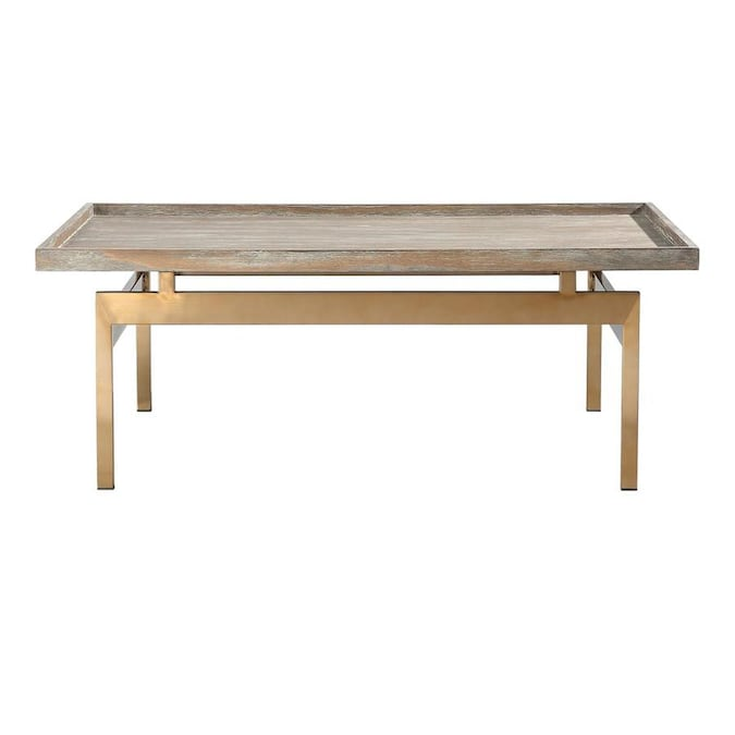 casainc household essentials square wooden side table in