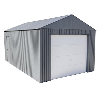 Sojag Everest Garage 12 x 20 ft. in Charcoal