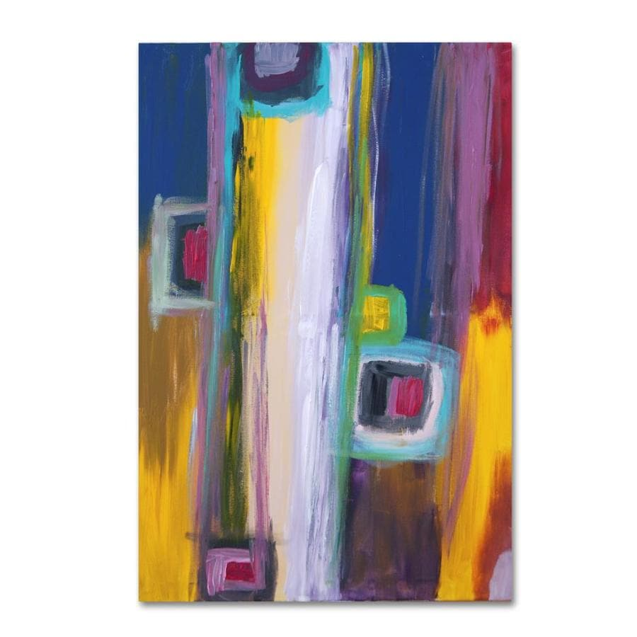 Trademark Fine Art Sylvie Demers Petites Ecoles 12x19 Canvas Art In The Wall Art Department At Lowes Com