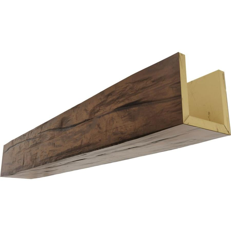Ekena Millwork Riverwood 6 In X 10 In X 144 In Premium Aged Prefinished Polyurethane Decorative Beam In The Faux Beams Department At Lowes Com