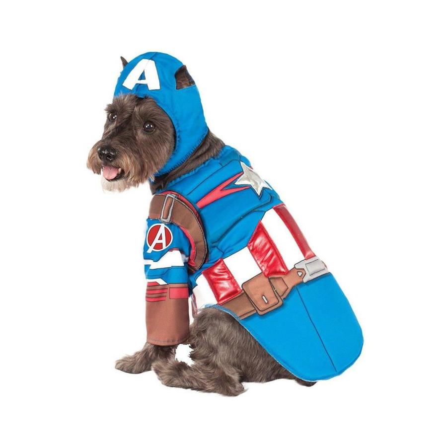 Rubie S Costumes Marvel S Captain America Deluxe Pet Costume Large In The Costumes Department At Lowes Com What do you think of jessica drew's new costume? lowe s