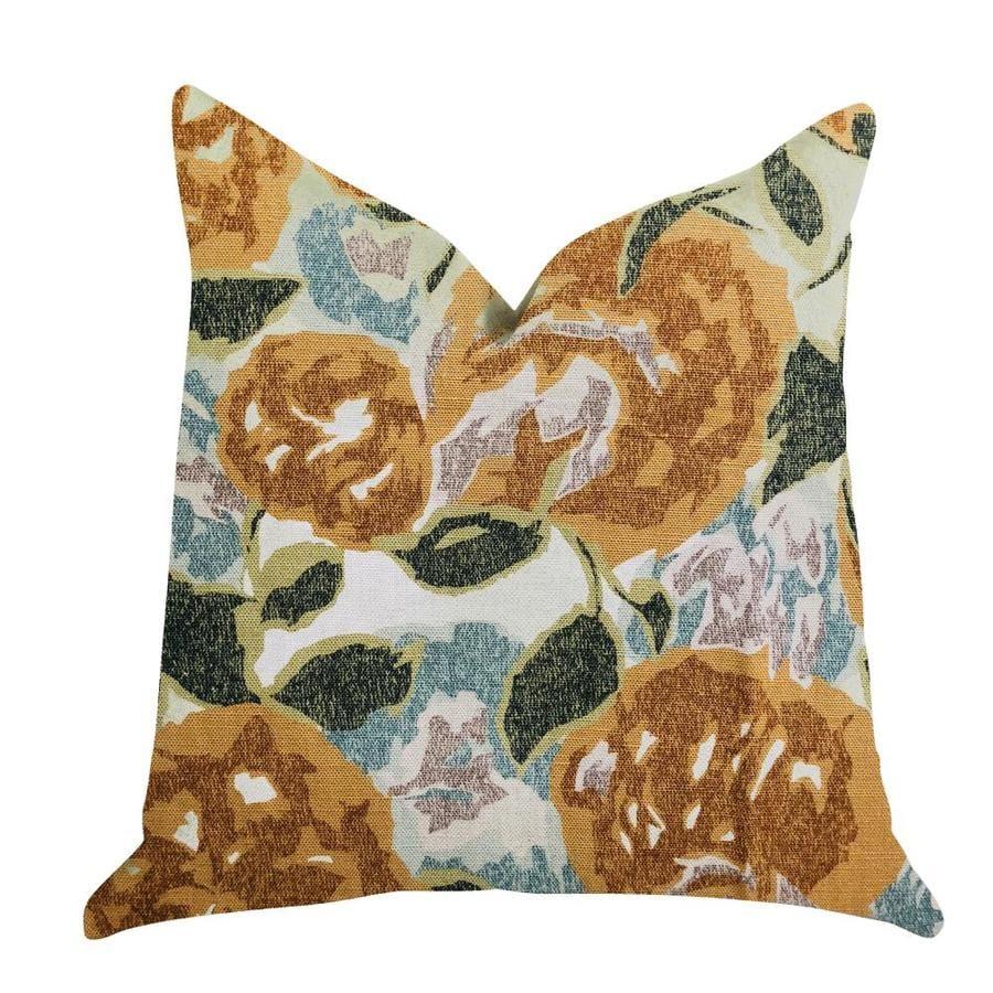 Plutus Brands Dahlia Jardin Indoor Decorative Pillow In The Throw Pillows Department At Lowes Com
