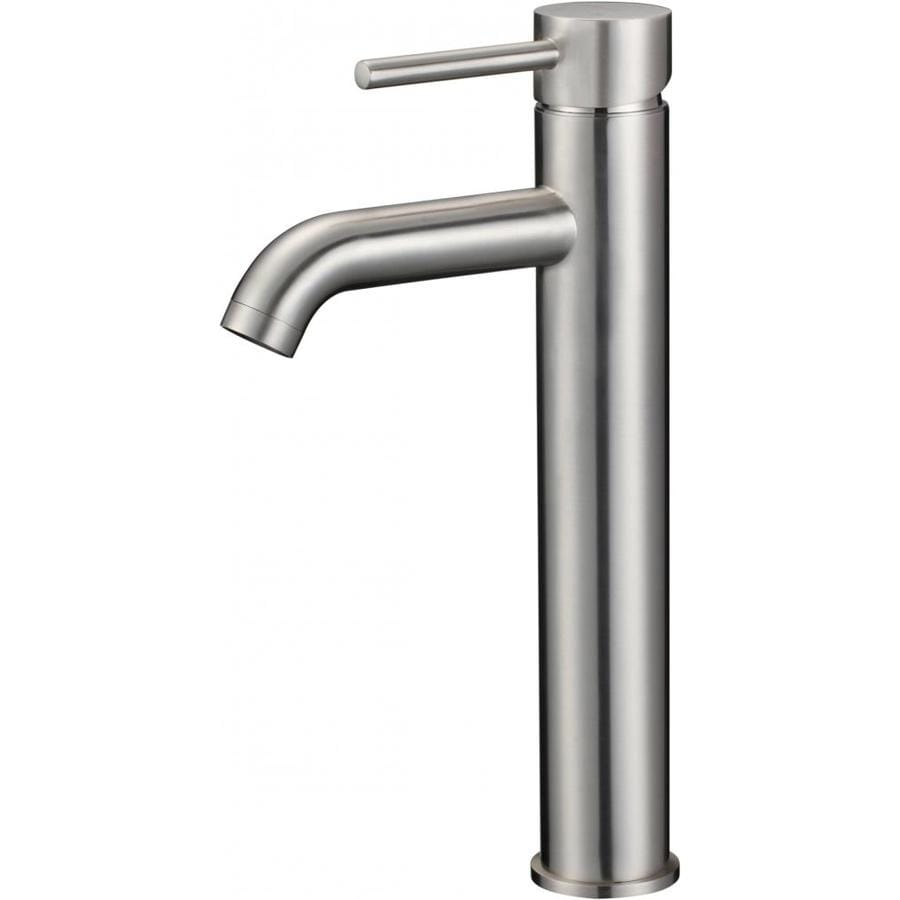American Imaginations Brushed Nickel 1 Handle Vessel Watersense Bathroom Sink Faucet In The Bathroom Sink Faucets Department At Lowes Com