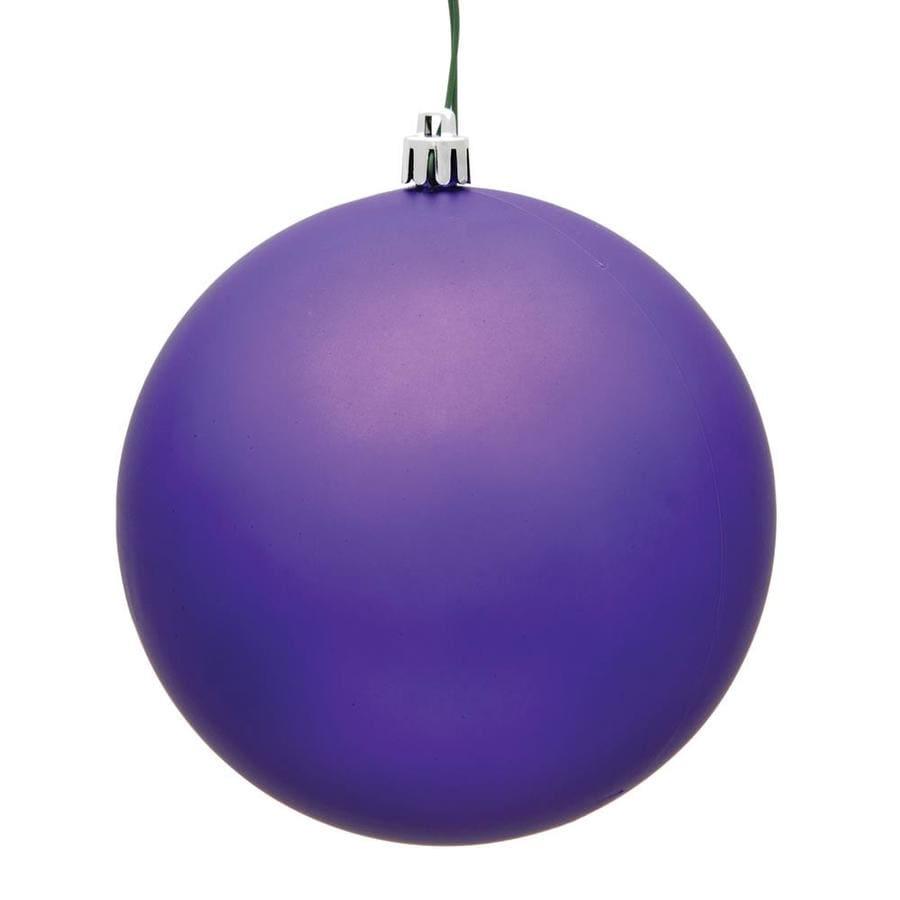 Vickerman N592036DMV Matte Ball UV Drilled Cap Lavender 8 8