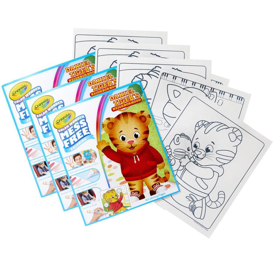 Crayola Color Wonder Mess Free Refill Book Daniel Tiger S Neighborhood Pack Of 3 In The Books Department At Lowes Com
