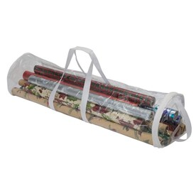 Hastings Home 1580 Hastings Home 40 In Tall Pop Up Gift Wrap Storage Fold Able Bag Removable Bow Bag In The Wrapping Paper Storage Department At Lowes Com