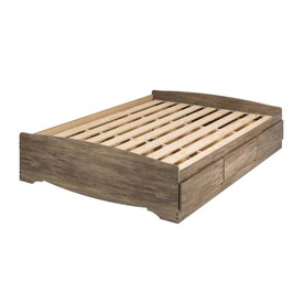 Midtown Concept Queen Bed Distressed Brown