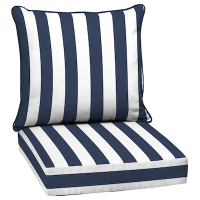 Striped Patio Furniture Cushions At Lowes Com