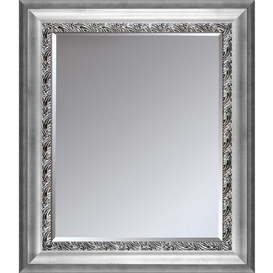 La Pastiche Athenian Wave 27 5 In L X 31 5 In W Bronze Framed Wall Mirror In The Mirrors Department At Lowes Com