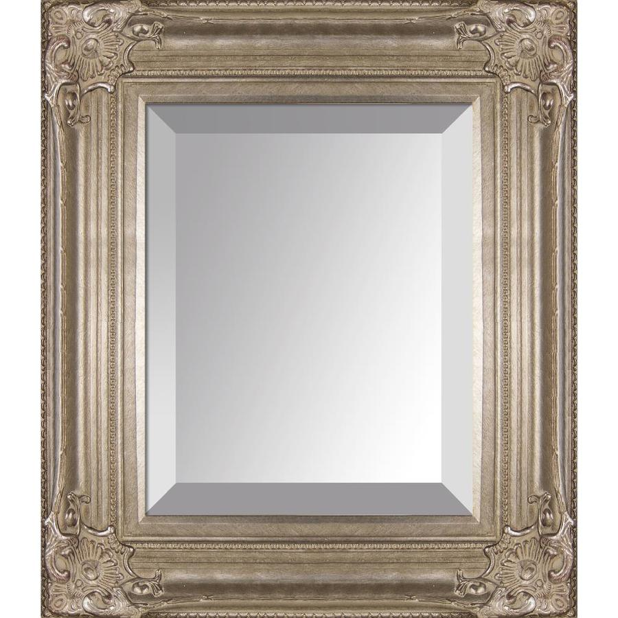 La Pastiche Renaissance 18 In L X 20 In W Champagne Framed Wall Mirror In The Mirrors Department At Lowes Com