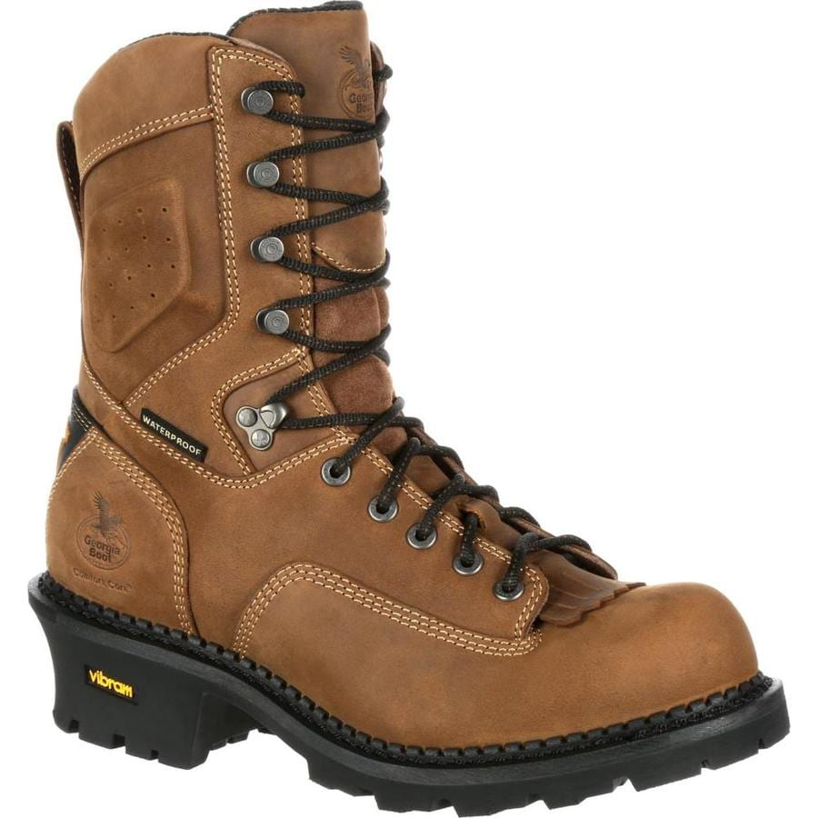 Georgia Boot Size: 13 Wide Mens Brown