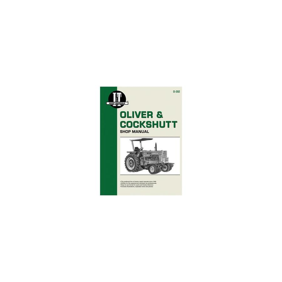 International Harvester O 202 Oliver Series Shop Manual In The Endless Aisle Department At Lowes Com