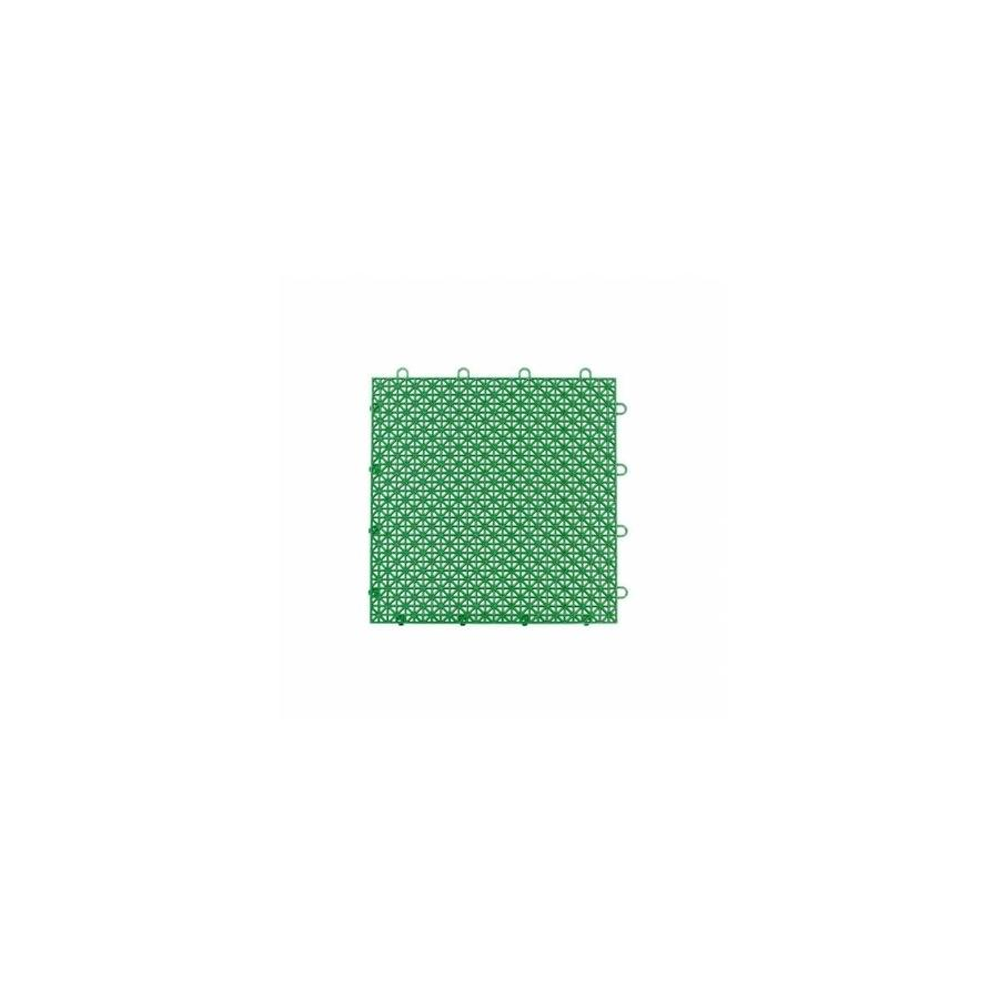Master Mark Plastics 23409 12 X 12 In Armadillo Extreme Green Polypropylene Interlocking Multi Purpose Floor Tile Pack Of 9 In The Endless Aisle Department At Lowes Com