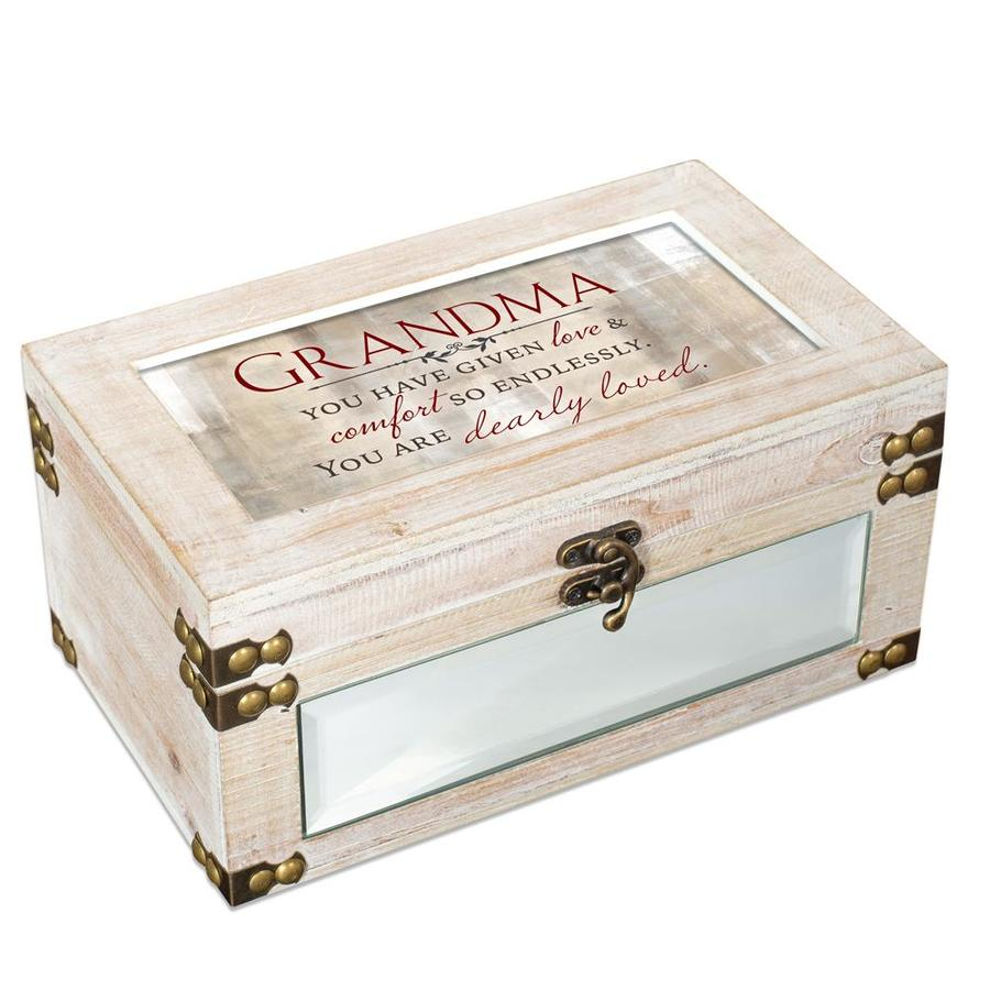 Dicksons Dicksons Md114wh Decorative Music Keepsake Box Grandma You Have Given Love And Comfort So Endlessly In The Endless Aisle Department At Lowes Com