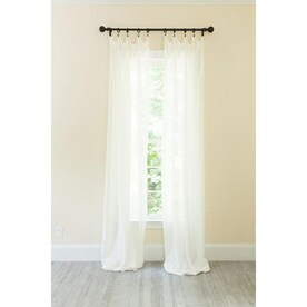 Amrapur Overseas 37 In High Rise Polyester Blackout Grommet Curtain Panel Pair In The Curtains Drapes Department At Lowes Com