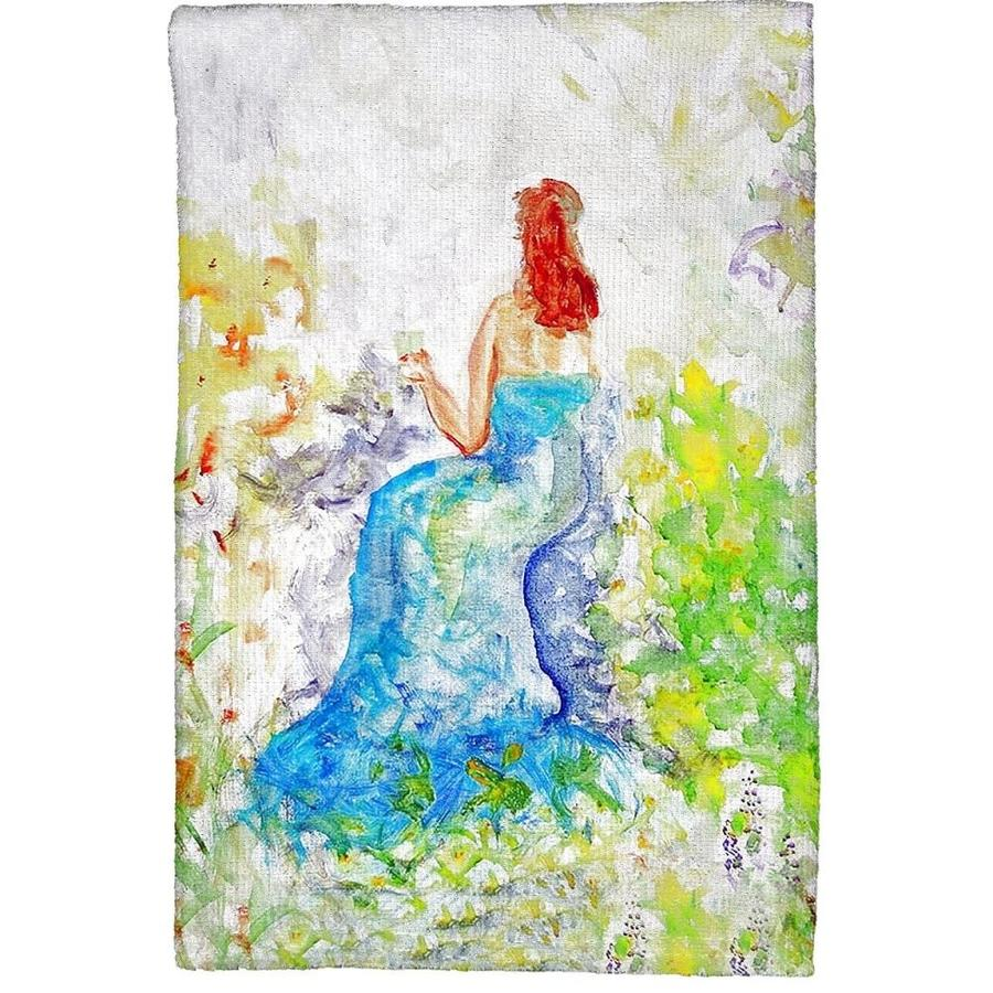 Betsy Drake Interiors Betsy Drake Kt893 Solitude Kitchen Towel In The Kitchen Tools Department At Lowes Com