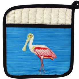 Betsy Drake Interiors Betsy Drake Pt122 Mia On The Rocks Pot Holder In The Endless Aisle Department At Lowes Com