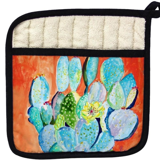 Betsy Drake Interiors Betsy Drake Pt755 Cactus Ii Pot Holder In The Endless Aisle Department At Lowes Com