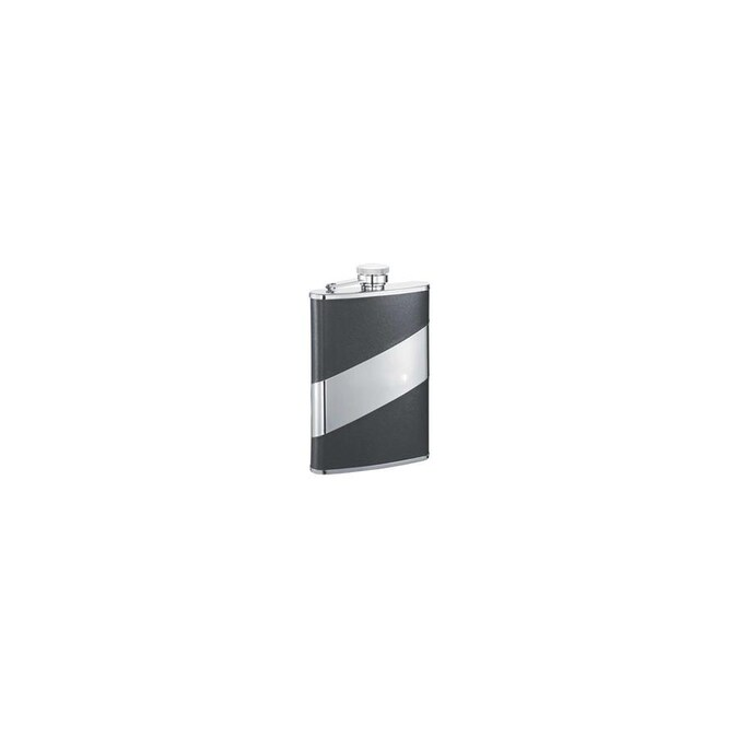 Visol Visol Vf2025 Descent Black Leather 8 Oz Flask In The Endless Aisle Department At Lowes Com