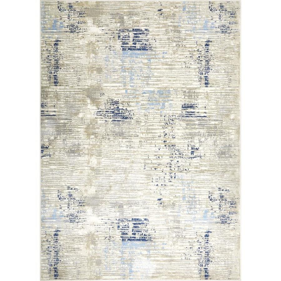 Home Dynamix Melrose Lorenzo 3 X 5 Light Beige Indoor Area Rug In The Rugs Department At Lowes Com