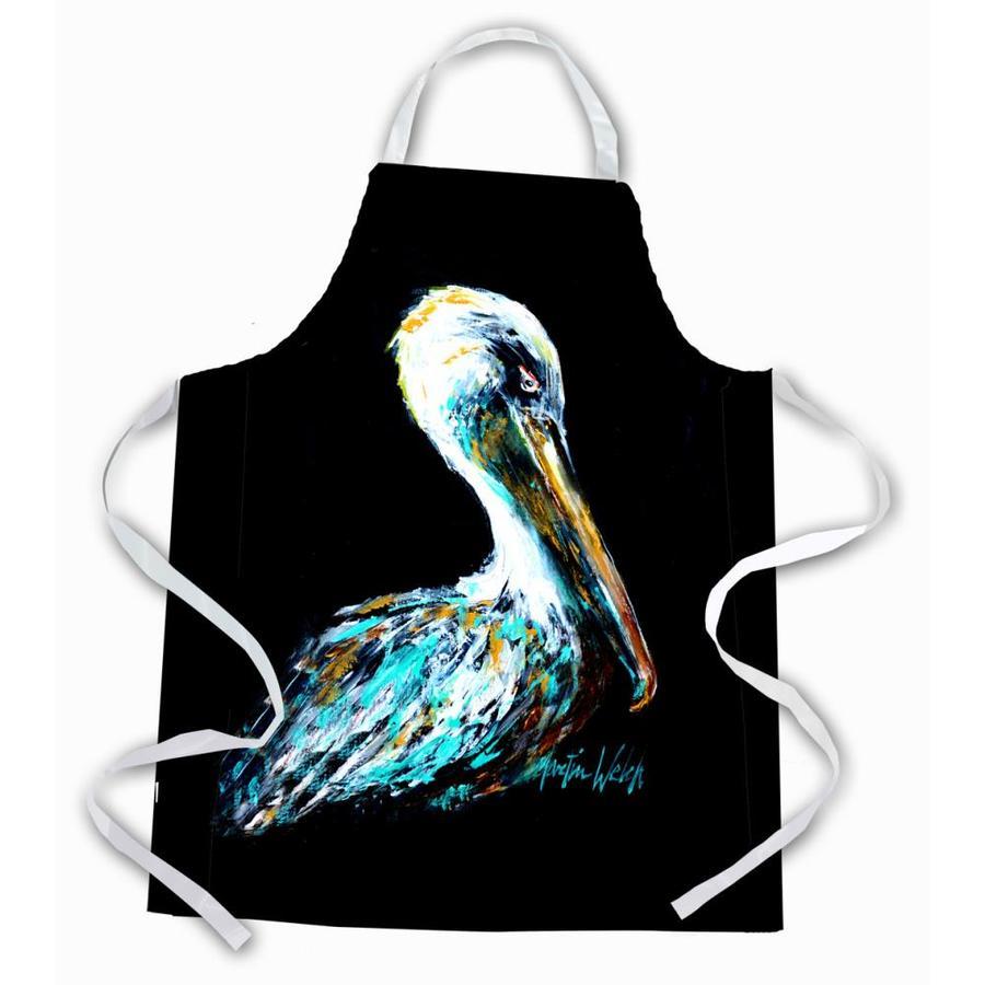 Caroline S Treasures Dressed In Black Pelican Apron In The Cooking Apparel Department At Lowes Com