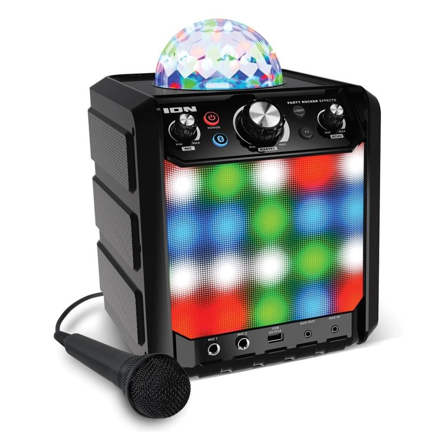 ION Audio Party Rocker Effects Bluetooth Speaker with Light Show