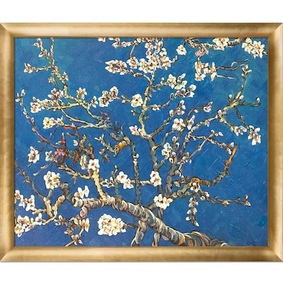 Branches Of An Almond Tree In Blossom Wall Art At Lowes Com