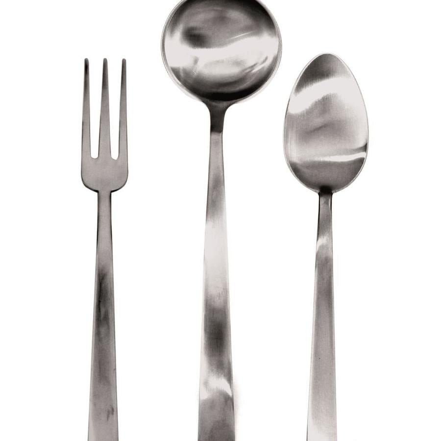 Mepra Mepra 103922003 Levantina Ice Serving Set Fork Spoon And Ladle 3 Piece In The Endless Aisle Department At Lowes Com
