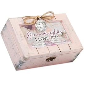 Dicksons Dicksons L80pk Decorative Music Keepsake Box Grandma Having You In My Life Is One Of My Most Cherished Treasures 4 X 6 In In The Endless Aisle Department At Lowes Com