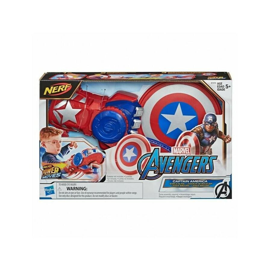 Avengers S.H.I.E.L.D Helicarrier Playset  3 ft long with Captain America Figure