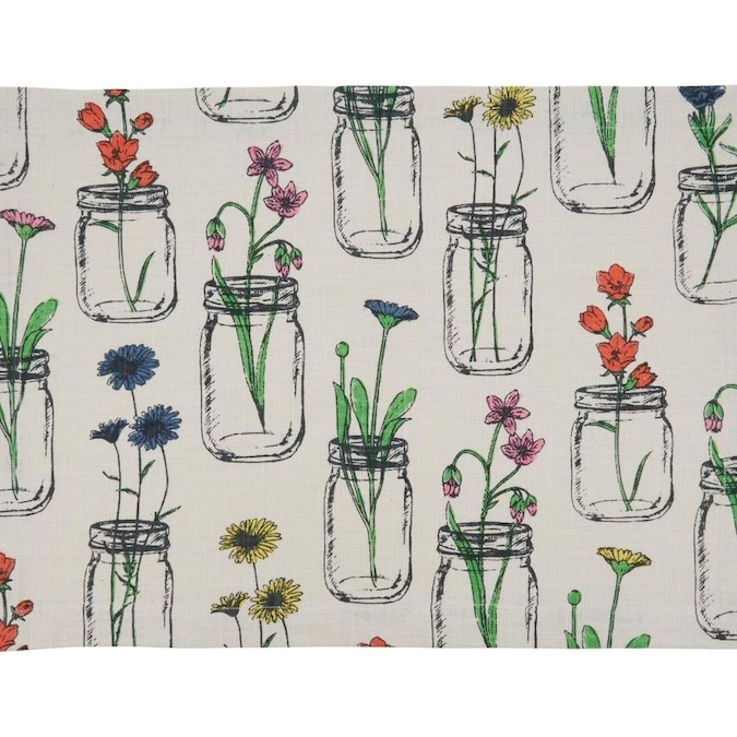 Saro Lifestyle Saro Lifestyle 536 I1420b Cotton Placemats With Flowers And Vases Design In The Endless Aisle Department At Lowes Com