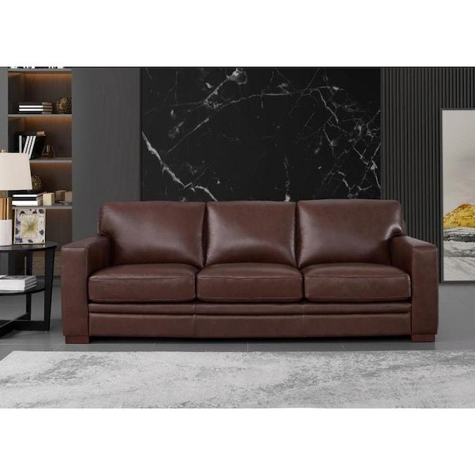 hydeline dillon 100 leather 2 piece living room set sofa