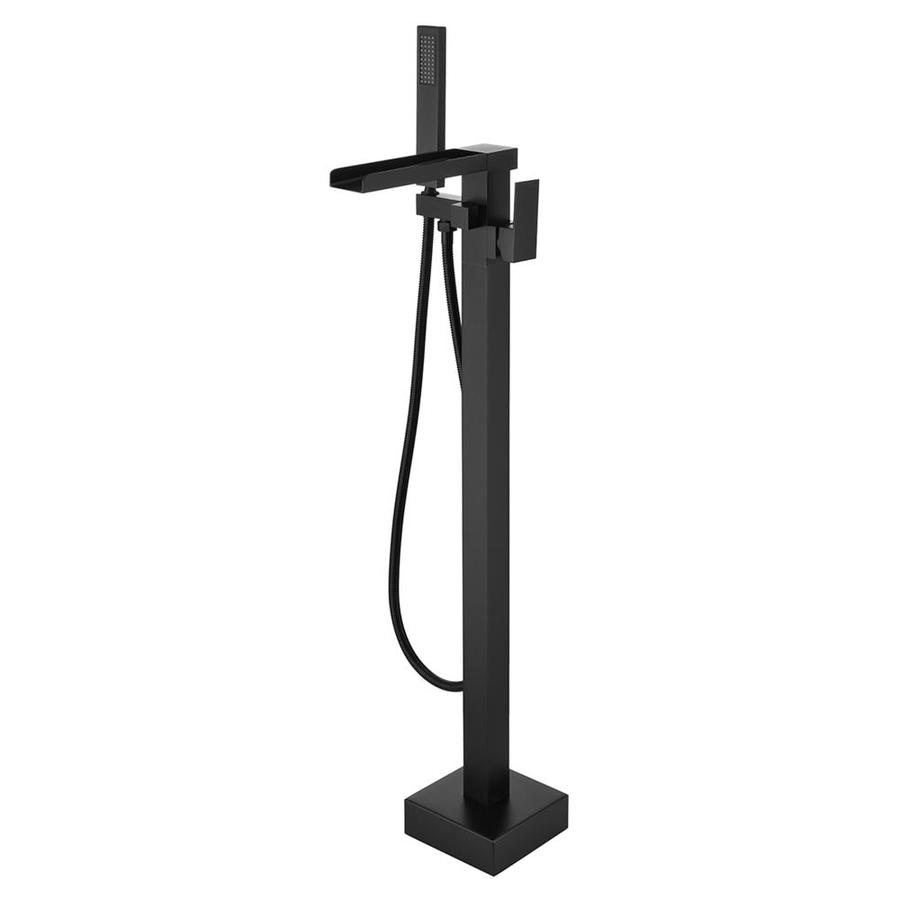 Matrix Decor Single Handle Floor Mounted Clawfoot Tub Faucet In The Bathtub Faucets Department At Lowes Com