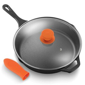 Nutrichef Cast Iron Wok In The Cooking Pans Skillets Department At Lowes Com