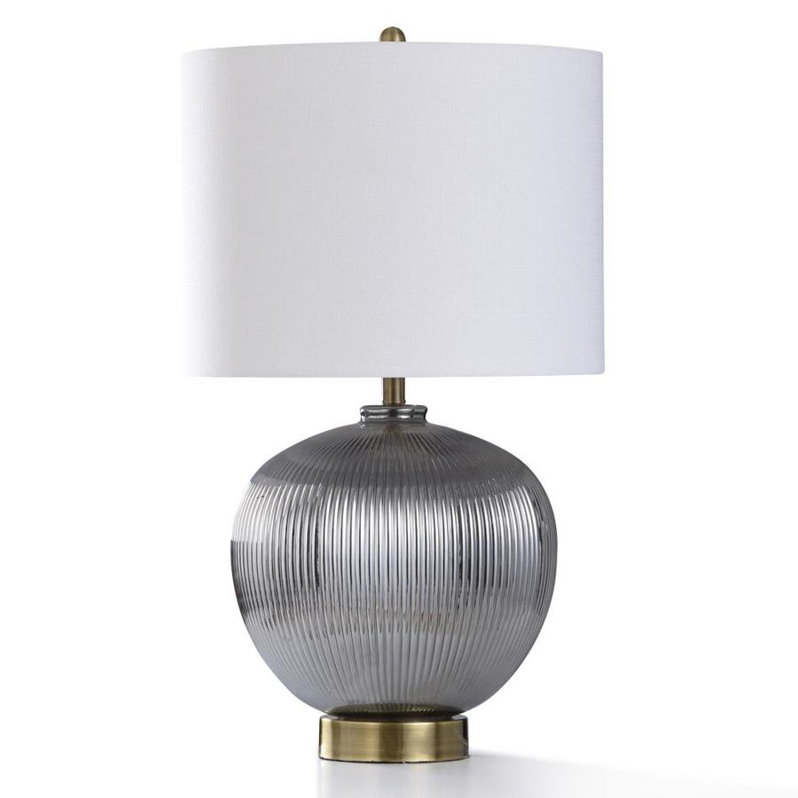 Stylecraft Home Collection 32 In 3 Way Table Lamp With Linen Shade In The Table Lamps Department At Lowes Com