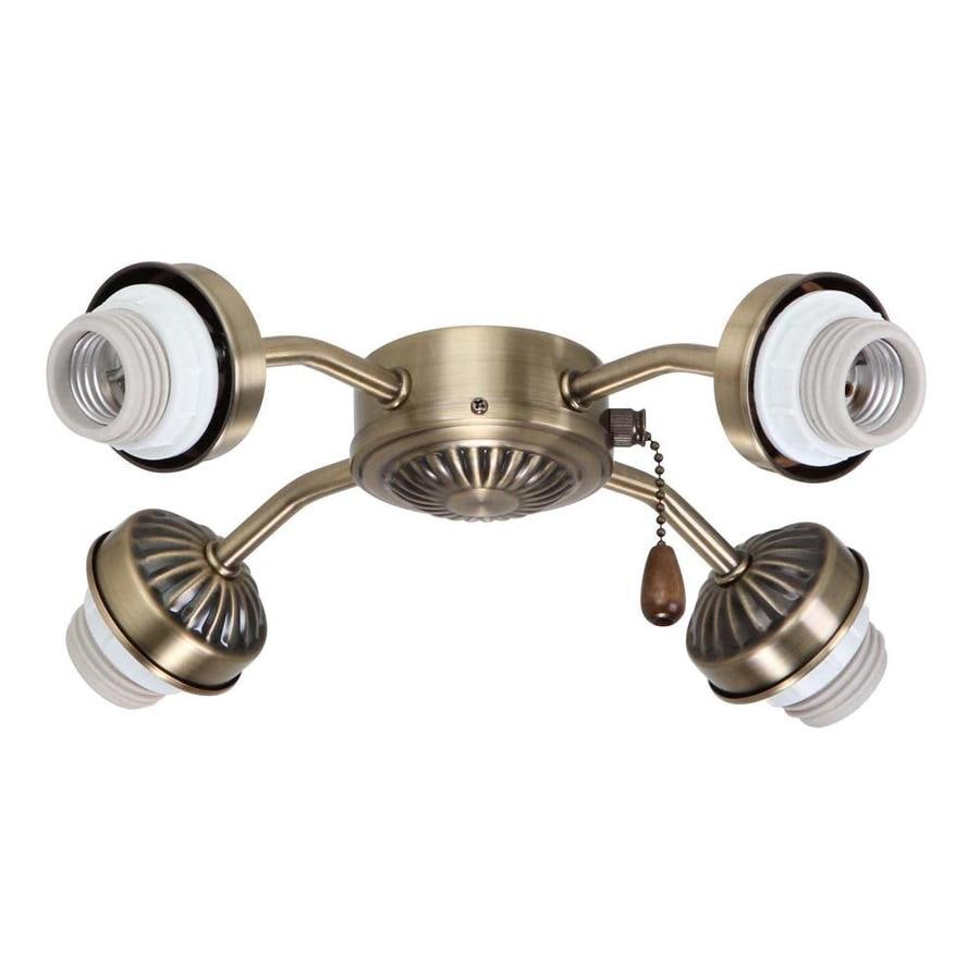 Four Light Arm Fitter Ceiling Fan Light Kits At Lowes Com
